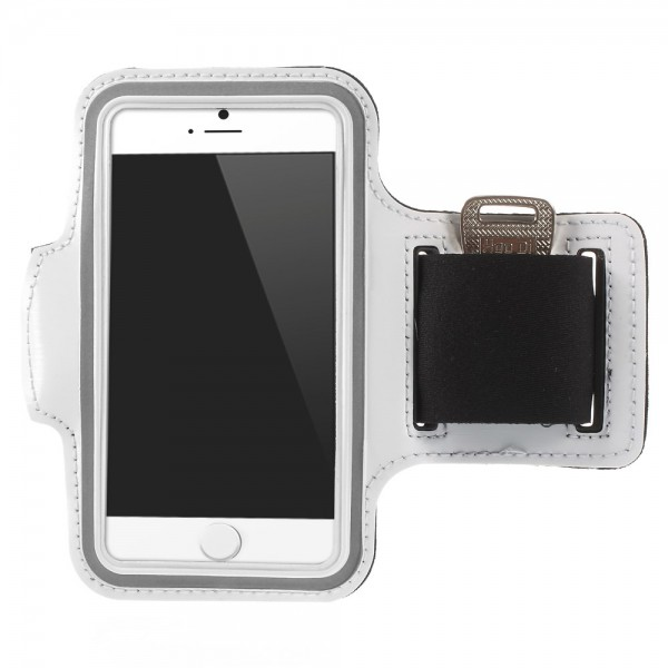 iPhone 6 Sport Armband - weiss