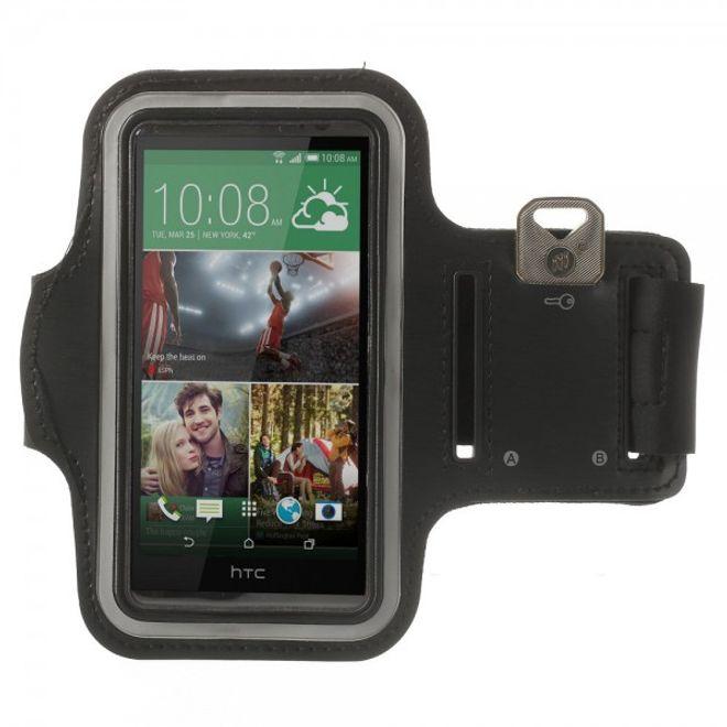 HTC One (M8) Sport Armband - schwarz