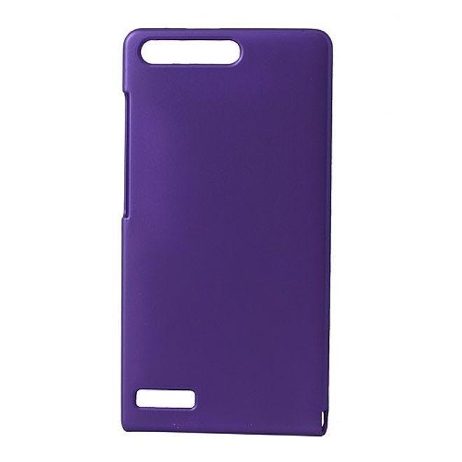 Huawei Ascend G6 Gummiertes Hart Plastik Case - purpur