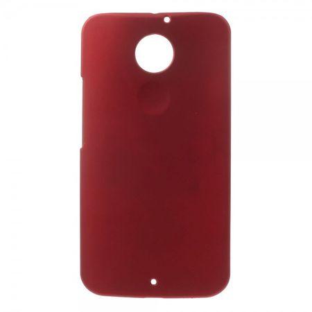 Motorola Moto X (2 Gen) Gummiertes Hart Plastik Case - rot
