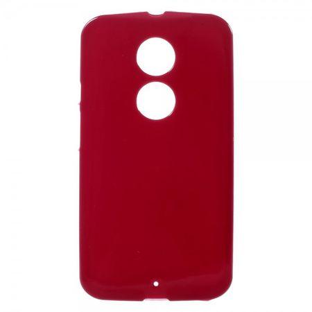 Motorola Moto X (2 Gen) Glänzendes, elastisches Plastik Case - rot