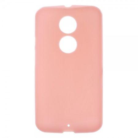 Motorola Moto X (2 Gen) Glänzendes, elastisches Plastik Case - pink
