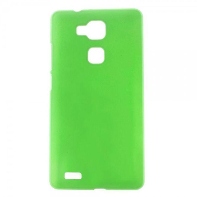 Huawei Ascend Mate7 Gummiertes Plastik Case - grün