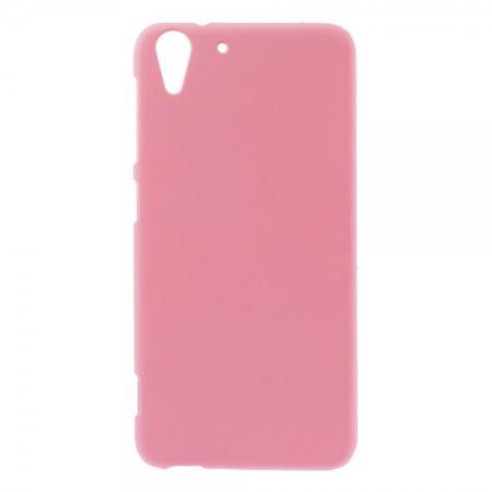HTC Desire Eye Gummiertes Hart Plastik Case - pink