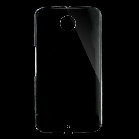 Motorola Nexus 6 Klares Hart Plastik Case - transparent