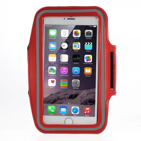 iPhone 6 Plus Sport Armband Case - rot