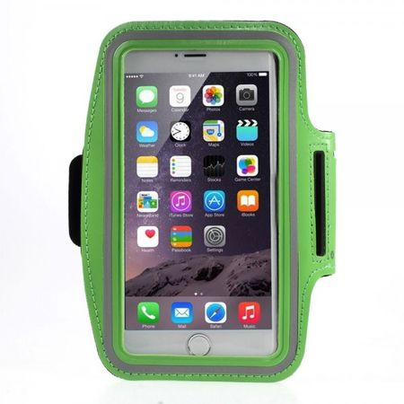 iPhone 6 Plus Sport Armband Case - grün