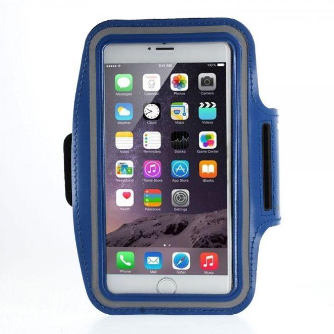 iPhone 6 Plus Sport Armband Case - dunkelblau