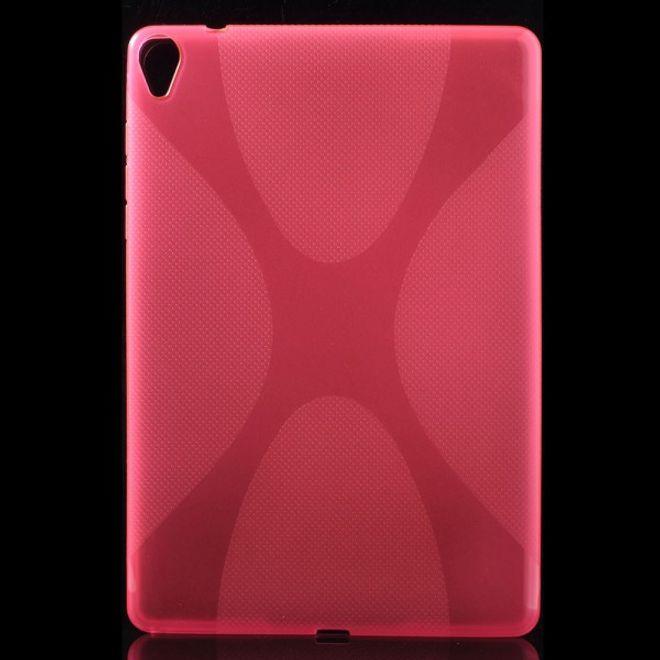 MU Classic HTC Google Nexus 9 Elastisches Plastik Case X-Shape - rosa