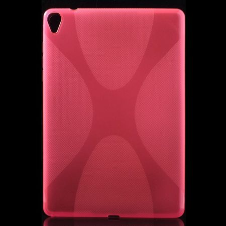 HTC Google Nexus 9 Elastisches Plastik Case X-Shape - rosa