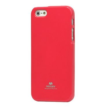 iPhone SE/5S/5 Elastisches Mercury Plastik Case - rot