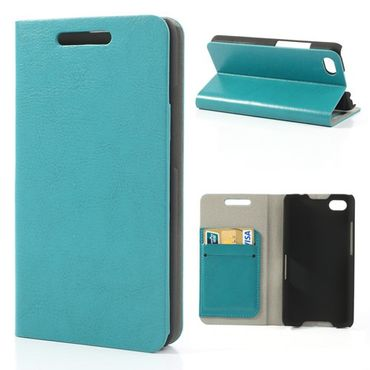 BlackBerry Z30/Aristo Crazy Horse Leder Case - blau