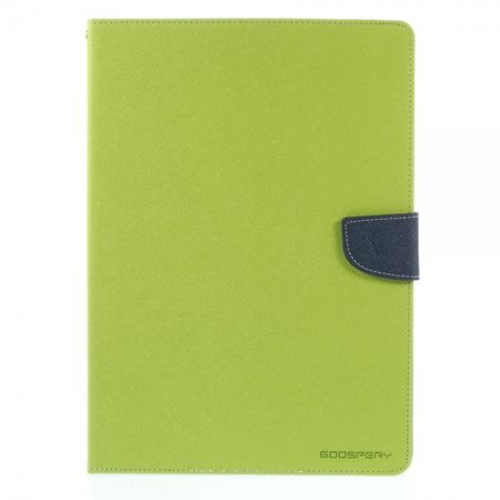 Goospery - Samsung Galaxy Tab S 10.5 Hülle - Tablet Bookcover - Fancy Diary Series - lime/navy