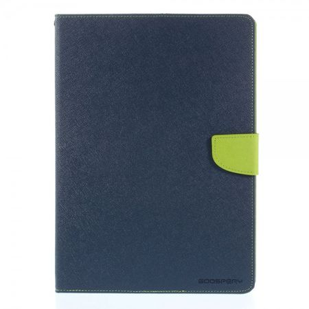 Mercury Goospery - Samsung Galaxy Tab S 10.5 (T800/T801/T805) Hülle - Tablet Bookcover - Fancy Diary Series - navy/lime