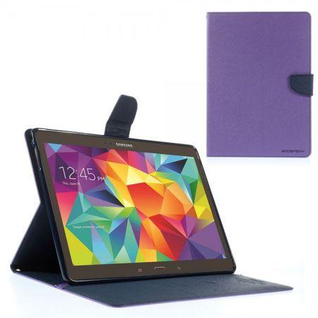 Samsung Galaxy Tab S 10.5 (T800/T801/T805) Mercury Goospery Leder Case - purpur