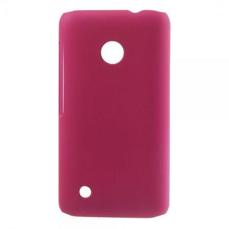 Nokia Lumia 530 Sanftes Hart Plastik Case - rosa