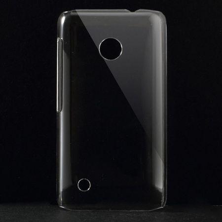 Nokia Lumia 530 Klares Hart Plastik Case - transparent