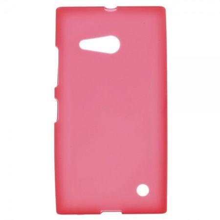 Nokia Lumia 730/730 Dual/735 Elastisches, mattes Plastik Case - rot