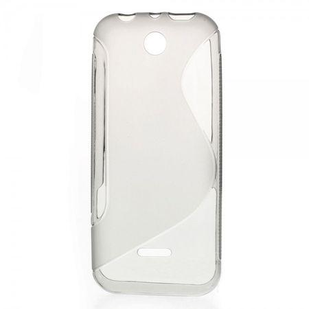 Nokia 225/225 Dual SIM Elastisches Plastik Case S-Curve - grau