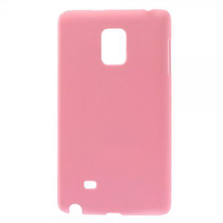 Samsung Galaxy Note Edge Gummiertes Hart Plastik Case - pink
