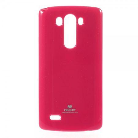 Goospery - LG G3 Handy Hülle - TPU Soft Case - Pearl Jelly Series - pink
