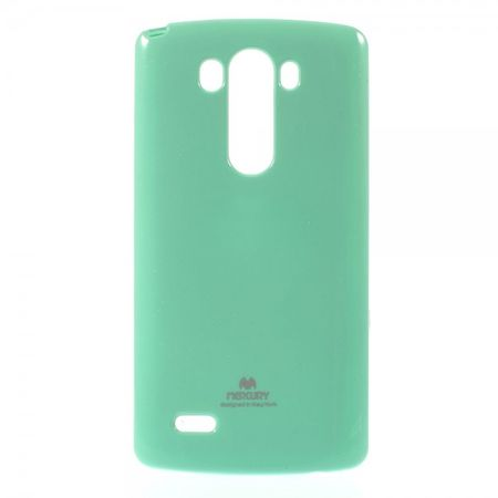 Goospery - LG G3 Handy Hülle - TPU Soft Case - Pearl Jelly Series - mint