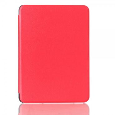 Amazon Kindle Voyage Leder Smart Flip Case - rot