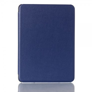 Amazon Kindle Voyage Leder Smart Flip Case - blau