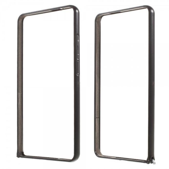 MU Classic Huawei Ascend Mate7 Stabiler Metall Bumper - schwarz