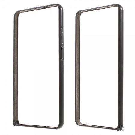 Huawei Ascend Mate7 Stabiler Metall Bumper - schwarz