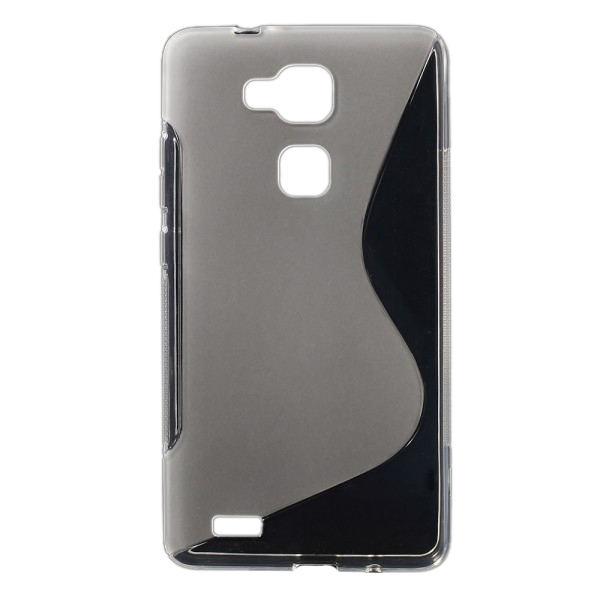 Huawei Ascend Mate7 Elastisches Plastik Case S-Line - transparent