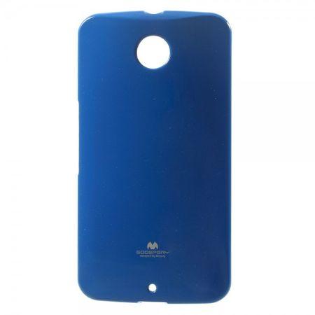 Motorola Nexus 6 Glitzerndes, elastisches Mercury Plastik Case - dunkelblau