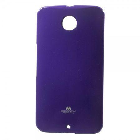 Motorola Nexus 6 Glitzerndes, elastisches Mercury Plastik Case - purpur