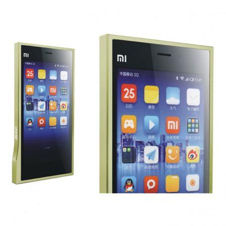 Xiaomi Mi3 LOVE MEI Ultradünner Metall Bumper (0.7mm) - grün