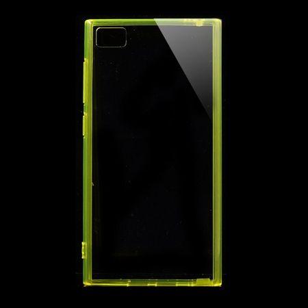 Xiaomi Mi3 Elastisches Plastik Case mit Staubschutz - gelb