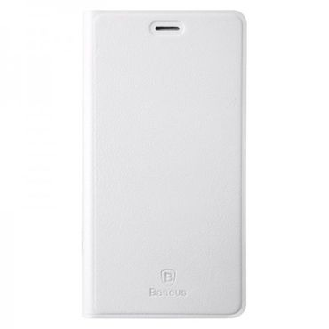 Xiaomi Mi4 Baseus Primary Color Series Leder Smart Cover - weiss