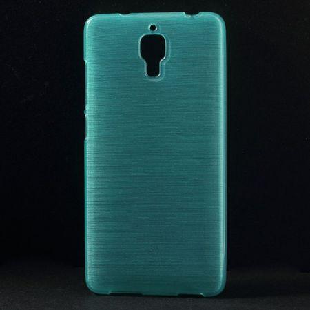 Xiaomi Mi4 Elastisches, gebürstetes Plastik Case - blau