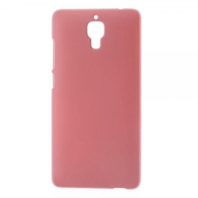 Xiaomi Mi4 Gummiertes Hart Plastik Case - pink