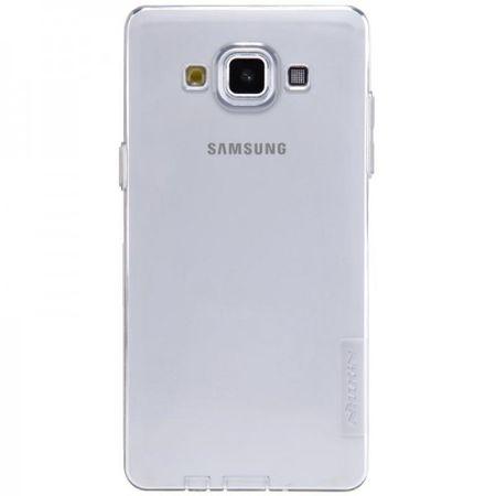 Samsung Galaxy A5 Dünnes, elastisches NILLKIN Plastik Case - grau