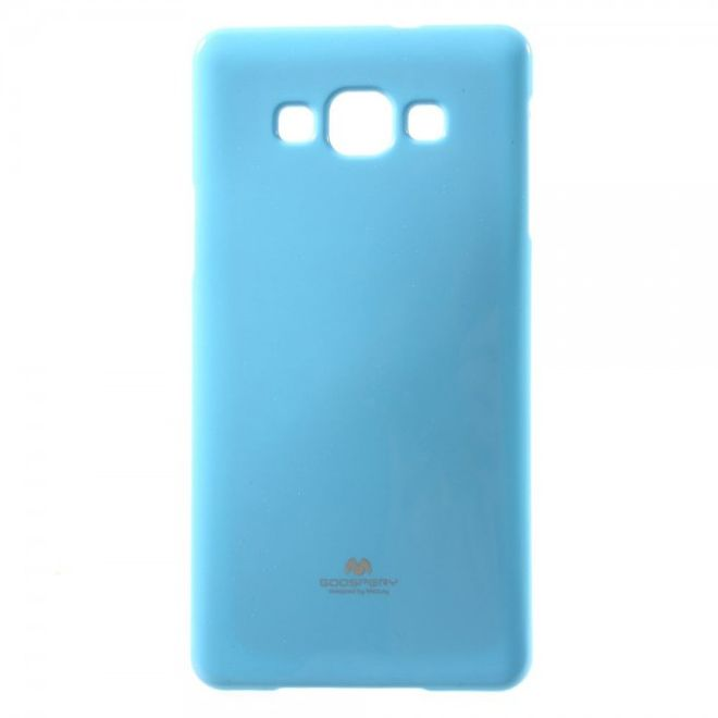 Goospery Samsung Galaxy A7 Glitzerndes, elastisches Mercury Case - hellblau