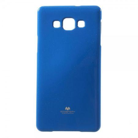 Goospery - Samsung Galaxy A7 (2015) Handy Hülle - TPU Soft Case - Pearl Jelly Series - blau