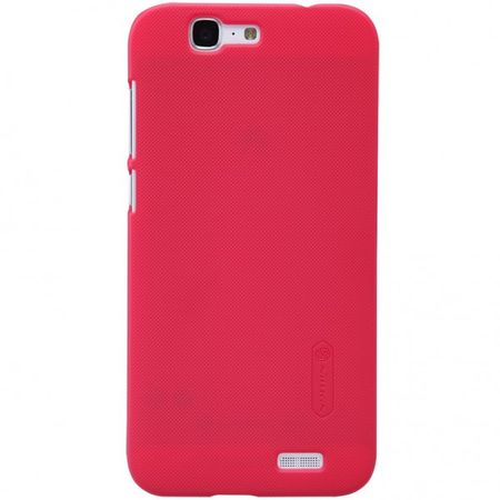 Nillkin - Huawei Ascend G7 Hülle - Plastik Case - Super Frosted Shield Series - rot