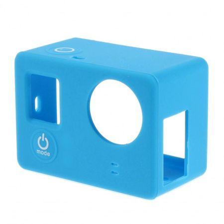 GoPro 3/3+ Elastisches Silikon Case - blau