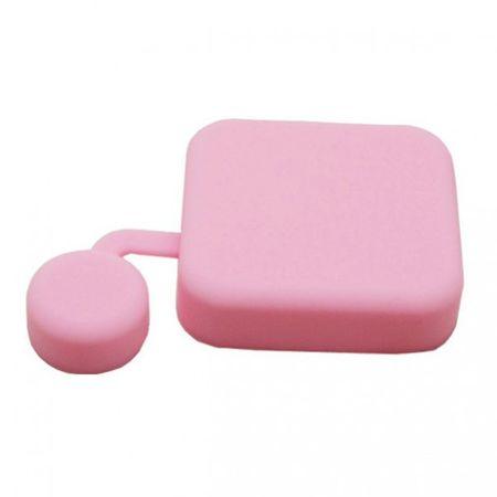 GoPro Hero 3+ Silikon Case für die Linse - pink