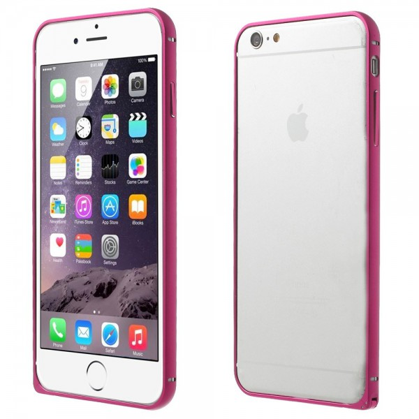 Love Mei iPhone 6 Plus/6S Plus LOVE MEI Metall Bumper Curved - rosa