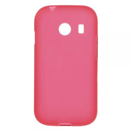 Samsung Galaxy Ace Style Elastisches Plastik Case - rot