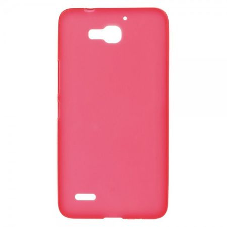 Huawei Honor 3X Elastisches Plastik Case - rot