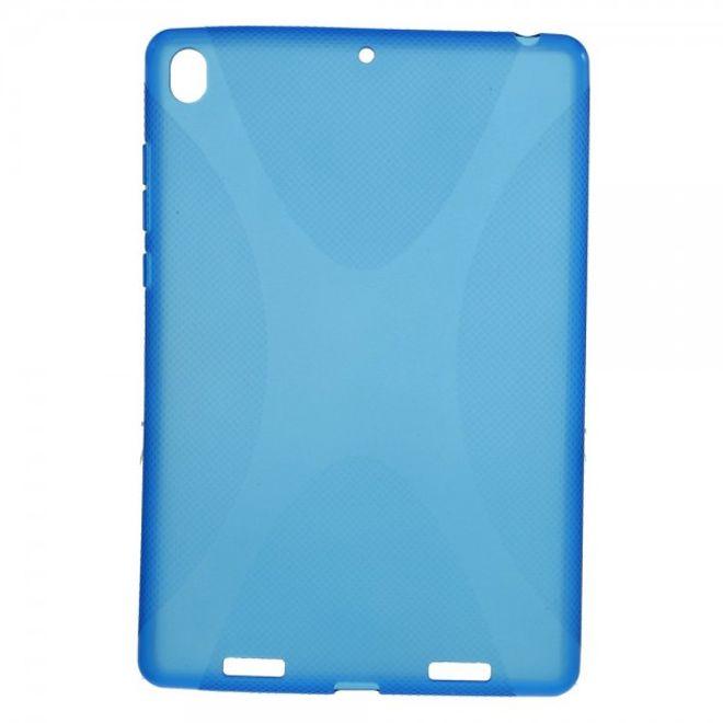Xiaomi MiPad Rutschfestes, elastisches Plastik Case X-Shape - blau