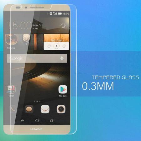 Huawei Ascend Mate7 Anti-Explosions Schutzfolie (0,3mm dick) aus gehärtetem Glas