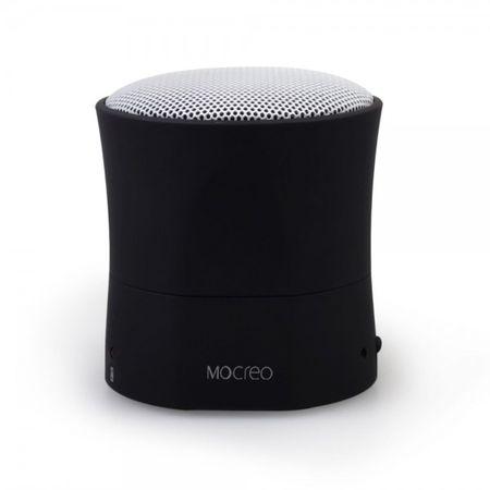 Mocreo Mosound Mini Ultraportabler Bluetooth Lautsprecher mit integriertem Mikrofon - schwarz